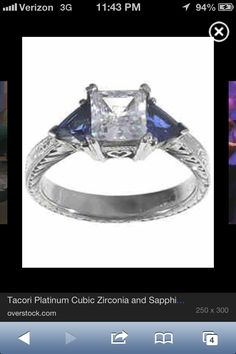 The ring chandler used to propose to Monica... Yep this is perfect for me too!!!