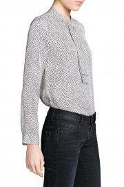 Koszula - Mango Mango, Men Sweater, Turtle Neck, Pullover, Blouse, Pattern, Sweaters, Shopping, Tops