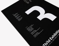 "STUDIO NEWWORK was assigned to design Autumn / Winter third exhibition invitation for 4 Nation showroom. STUDIO NEWWORK. Number 3 is transformed into letter R.14.3"" x 10.1""Digital print on paper"