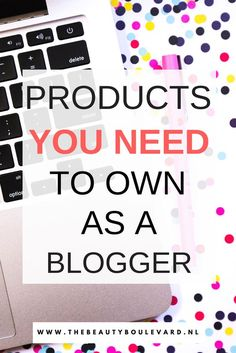 As a blogger, you definitely have to own this. Do you think you only need a laptop? Then you are wrong! With these products, you can improve your blog and your writings! So, all beauty, fashion, lifestyle, travel and personal bloggers need to read this blog post.
