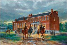 Fort Smith Arkansas - Judge Parker Court- The Hangin' Judge  Artist- John Bell Jr