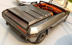 Futuristic Concept Cars From the 70s and 80s - Visions From a Retro Future -  #cars #futuristic #retro #retrofuturism