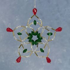 Image detail for -Bead Kits - A Touch Of Glass Christmas Bead Ornament Kits