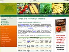 This chart is prepared mainly as a schedule and guide for planting your garden in zones Planting Vegetables, Vegetable Garden, Michigan Landscaping, Zone 5, Gardening Tips, Schedule, Modern Design, Herbs, Plants