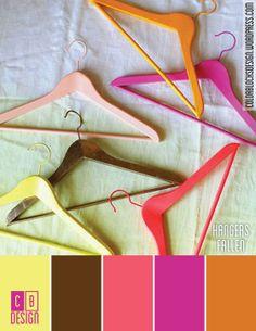Hangers Fallen | Color Blocks Design 9.21.12