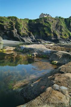 Tunnel beaches in north Devon minus the landslide we saw there