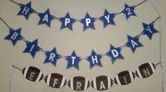 Dallas cowboys birthday banner