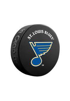 St Louis Blues Basic Hockey Puck