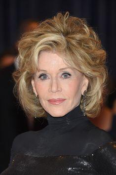 Jane Fonda Curled Out Bob - Short Hairstyles Lookbook - StyleBistro