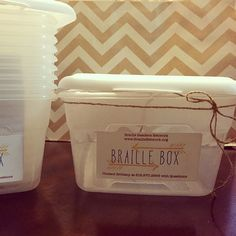 Braille Boxes! Braille Readers Network offers an exciting way for children who are visually impaired to use their brailing and resource skills to communicate with their peers through Braille Box©. ...