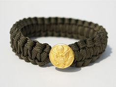 Peace Cord™ is a bracelet hand woven by women in Afghanistan from military grade parachute cord and uniform buttons - the same materials our soldiers use and wear. Peace Cord™ is your tie to our troops.   Peace Cord™ is a partnership between ARZU STUDIO HOPE and Spirit of America, like-minded nonprofit organizations affecting positive change in communities across Afghanistan. Production of Peace Cord™ creates jobs for impoverished Afghan women, delivers access to education and healthcare…