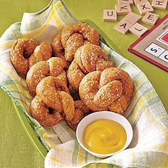 Soft Pretzels Recipe | MyRecipes.com