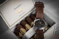 "Panerai 422 & Davidoff ""Puro D'Oro""...  #panerai #pam424 #davidortiz #cigars #purodormir #cronotempvs #watches #wristshot #watchcollector #watchmaniac #equationdutemps #watchesbysjx#puristspro#hodinkee #independentwatchmaking #wristwatches #watchanish #watchjenny #luxurywatchlife"