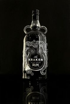 The Kraken Rum Redesign by Cedrik Ferrer, via Behance PD