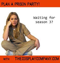 Orange is the new black party costume fancy dress halloween season 3 cosplay comic con piper chapman alex vauseman