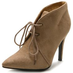 Ollio Women's High Heel Ankle Shoe Lace Ups Faux Suede Multi Colored Boots (5.5 B(M) US, Sand) Ollio,http://www.amazon.com/dp/B00HO19JZK/ref=cm_sw_r_pi_dp_cMyBtb16YR4Y1XC7