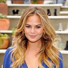 Find out the trick to getting Chrissy Teigen's perfect tresses.