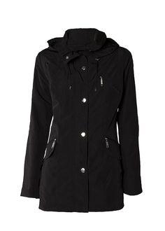 Praktisk ytterjacka Raincoat, Jackets, Fashion, Rain Gear, Down Jackets, Moda, Fashion Styles, Fasion