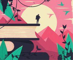 dale edwin murray freelance illustrator waitress weekend magazine illustration