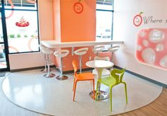 Apricato Yogurt Shop Design by Mindful Design Consulting