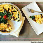 quiche cu spanac si rosii uscate Interior Design Kitchen, Vegetable Pizza, Quiche, Veggies, Breakfast, Ethnic Recipes, Food, Drink, Morning Coffee