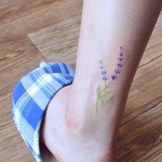 Lavender tattoo -meaning: Faithful, Purification, Spiritual Healing