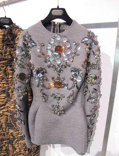 e-look: Lanvin Fall 2012 Dress.