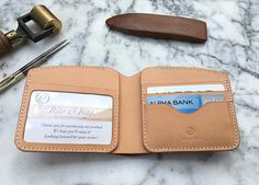 Handmade Men's Leather Wallet