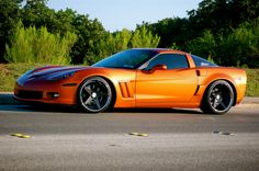Atomic Orange Grand Sport Widebody Build Complete (360 forged carbon content) - Corvette Forum Corvette 2005, Corvette Summer, Corvette Grand Sport, Chevrolet Corvette Stingray, My Dream Car, Dream Cars, Classic Corvette, Modified Cars, Sports