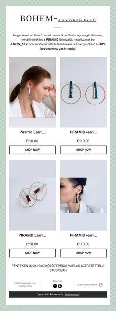 bohem-A nagykollekció Handmade Jewelry, Enamel, Shopping, Vitreous Enamel, Handmade Jewellery, Jewellery Making, Enamels, Diy Jewelry, Tooth Enamel