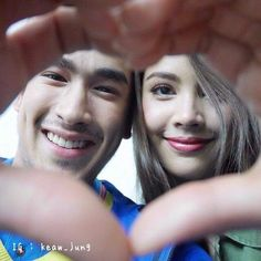 . Mark Prin, Thai Drama, Muslim Couples, Sweet Couple, Actor Model, Celebrity Couples, The Crown, Cute Couples, Rapper