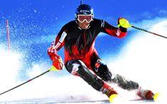 Skiing Ski Jumping World Champion Winter Olympic Sport Poster 012 Slalom Skiing, Alpine Skiing, Snow Skiing, Best Skis, Ski Jumping, Olympic Sports, Knee Brace, Acl Knee, Winter Olympics