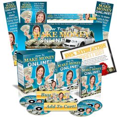 This 'Make Money Online' template will make for a great entry level product.