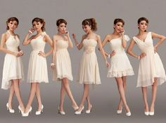 beige bridesmaid dress - Google Search