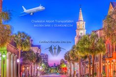 Charleston's #1 choice for airport transportation is Carolina's Executive Limo Line!  http://www.celimoline.com/charleston-airport-car-service