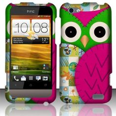For HTC One V (Virgin Mobile) Rubberized Design Cover - Owl by Balagi. $2.49. Protect your phone with style through this sleek case. Provides ultimate protection from scratches and its perfect mold keeps the phone trim and trendy. Reinforced with hard plastic to the sides to ensure the durability of the case. Precise openings on the protector case to allow access to all controls and features on the phone. Packed in high quality poly bag packing.