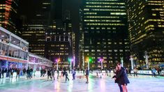 Go ice-skating after hours at the Winter Village in Bryant Park next week