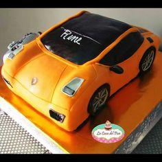 3D lamborghini cake