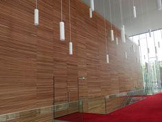 panneau d 39 absorption acoustique en bois lin a volution. Black Bedroom Furniture Sets. Home Design Ideas