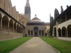 Pazzi Chapel @ Santa Croche - Brunelleschi