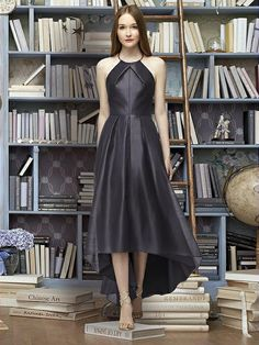 Lela Rose Bridesmaid Style LR233 | The Dessy Group (onyx)