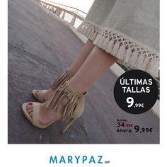 Preppy Look el que ha elegido hoy nuestra amigua Amarillo YTú ¿¿Qué te parece?? ¿¿Te atreves con los flecos??  ¡¡No te pierdas las ULTIMAS TALLAS by MARYPAZ y hazte con estas sandalias con flecos por 9,99€!!  Busca tu talla de esta MANOLETINA CON CORDONES aquí ►http://www.marypaz.com/woman/sandalia-tacon/sandalia-de-tacon-con-flecos-0424216v6015-74149.html  ¡No te pierdas las ultimas tallas by MARYPAZ! ¡Encontrarás grandes descuentos! ¡Los que deseaste durante todo el verano los tienes de