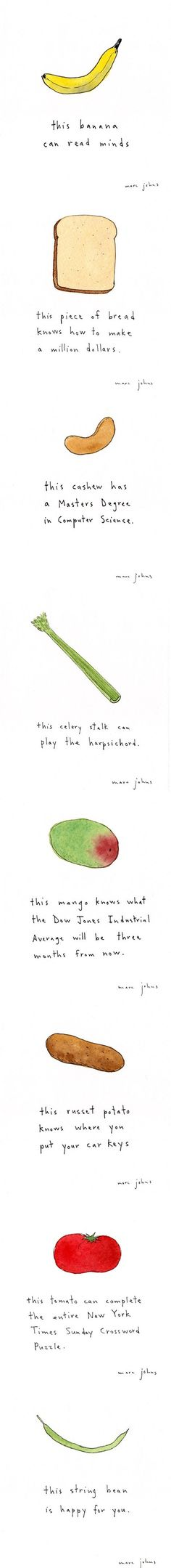 smart foods by Marc Johns