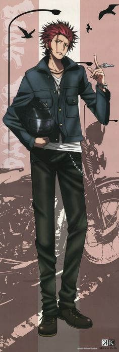 Suoh Mikoto - K Project - K Anime - K Missing Kings..,love him soooo much,n his voice sooooo sexy <3<3<3