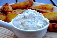 Salsa patatas deluxe Camembert Cheese, Mashed Potatoes, Dips, Ice Cream, Ethnic Recipes, Desserts, Food, Sauces, Wordpress