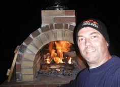 The Owen Wood Fired DIY Brick Pizza Oven in Maine - BrickWood Ovens