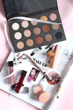 Cult Beauty haul - Zoeva eyeshadow palette - Charlotte Tilbury - Jouer liquid lipstick - NYX pencil - Becca brightening