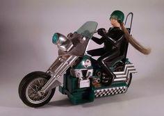 SCREAM'N DEMON 1970's Motorcycle Hasbro Works! Vintage Retro Toy  #HASBRO