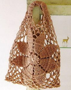 Stylish Easy Crochet: Crochet Bag Free Pattern For Summer and Beach