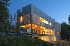 bridge house ~ mackay-lyons sweetapple architects   photos ©...